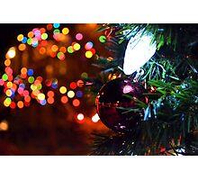 Holiday Lights Photographic Print