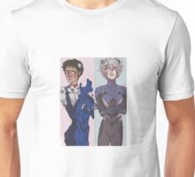 both Shinji and Kaworu Unisex T-Shirt