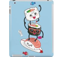Surfin' sushi iPad Case/Skin