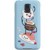 Surfin' sushi Samsung Galaxy Case/Skin