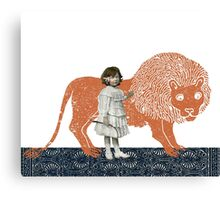 Pet Lion Canvas Print