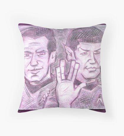 Live Long & Prosper Throw Pillow