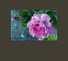 Mottled pink rose and bud T-Shirt