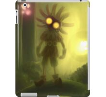 Skull kid is staring at you iPad Case/Skin