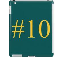 Number Ten iPad Case/Skin