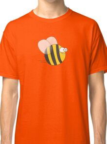 Cool & Crazy Funny Bee / Bumble Bee (Sweet & Cute) Classic T-Shirt