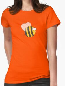 Cool & Crazy Funny Bee / Bumble Bee (Sweet & Cute) Womens Fitted T-Shirt