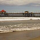 Huntington Beach by rtuttlephoto