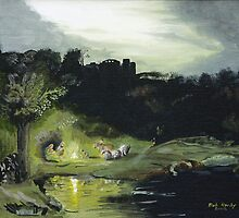 Flight to Egypt by Bob Hardy