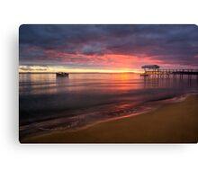 Sullivan Bay, Sorrento - sun is rising Canvas Print