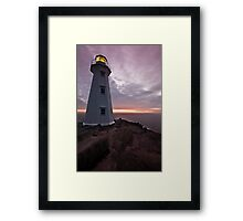 Martian Dawn Framed Print