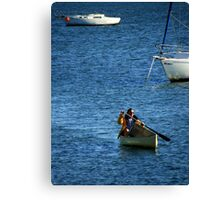 No Jobs Too Big Or Too Small For Our Mailman ! Canvas Print