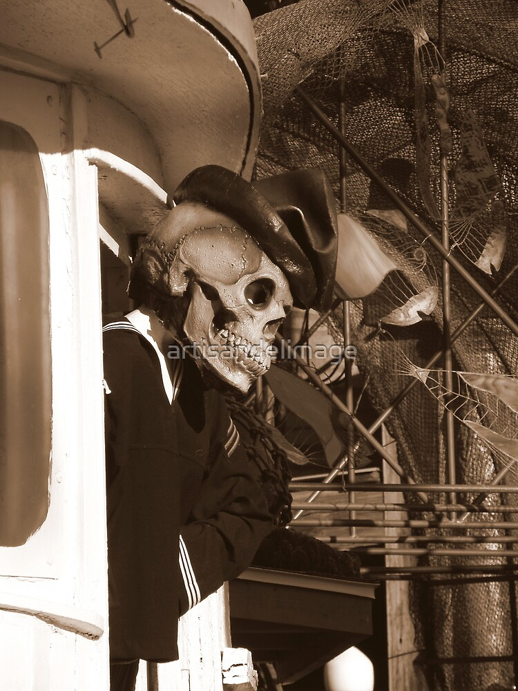 Welcome Aboard ! (En Route To The Bermuda Triangle) by artisandelimage