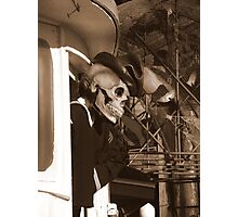Welcome Aboard ! (En Route To The Bermuda Triangle) Photographic Print