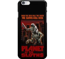 Planet Of The Sloths iPhone Case/Skin