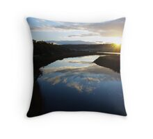 Inlet Sunrise. Throw Pillow