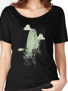 Trees and Clouds.  Women's Relaxed Fit T-Shirt