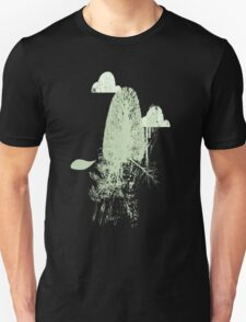 Trees and Clouds.  Unisex T-Shirt