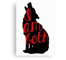 I Am Both - Ruby - Once Upon A Time Canvas Print
