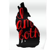 I Am Both - Ruby - Once Upon A Time Poster