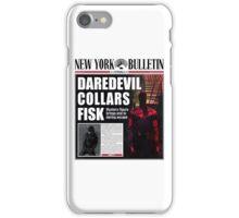 Daredevil Newspaper  iPhone Case/Skin