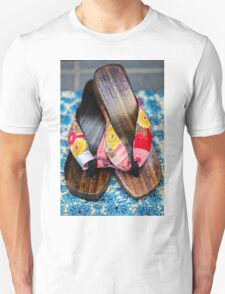 Japanese Sandals Unisex T-Shirt