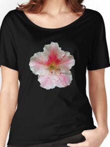 'Pink Azalea Macro' Women's Relaxed Fit T-Shirt