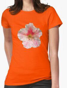 'Pink Azalea Macro' Womens Fitted T-Shirt