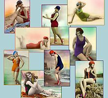 Bathing Beauties by dbvisualarts