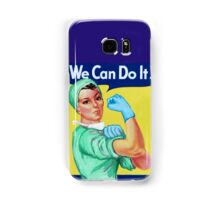 Rosie the Riveter Medical or Surgical Doctor  Samsung Galaxy Case/Skin