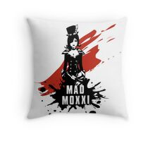 Mad Moxxi Throw Pillow