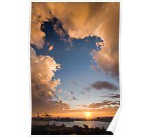 The Window - Fremantle Port Poster
