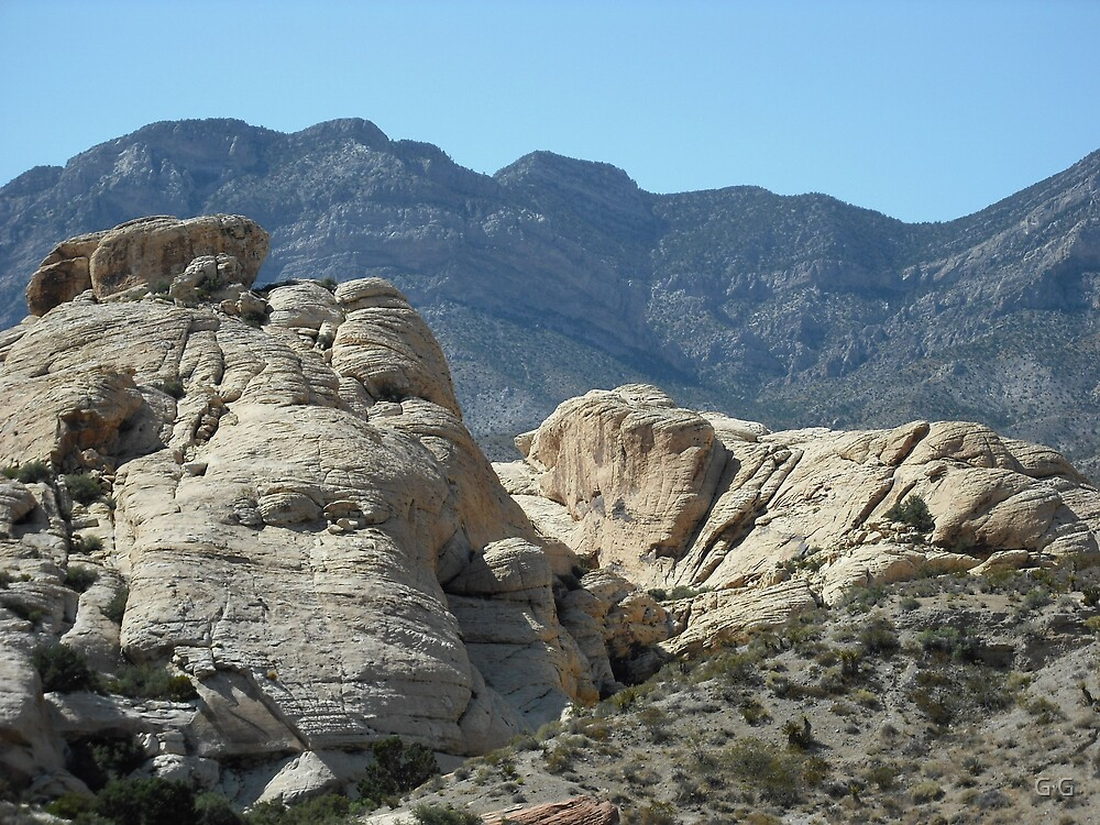 Red Rock Canyon by G G