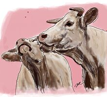 Cow Love by Danielle Keltner