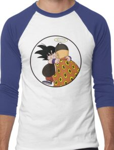 Happy Goku Hugs Grandpa Gohan :3 Men's Baseball ¾ T-Shirt