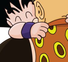 Happy Goku Hugs Grandpa Gohan :3 Sticker