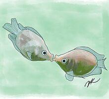 Fish Kisses by Danielle Keltner