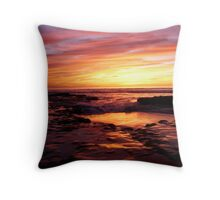 """""""Water Color Mood"""" Throw Pillow"""