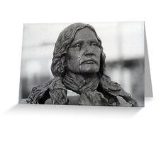 Cryng Chief Niwot Greeting Card