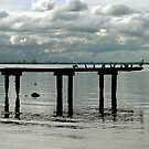 Pier to Nowhere by Steven  Agius