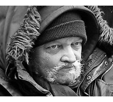 Homeless in New York Photographic Print