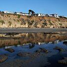 """Encinitas Beach Reflection""  by Tim&Paria Sauls"