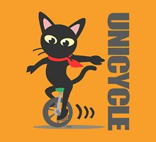 Unicycle Womens Fitted T-Shirt