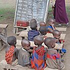 School's In! Tanzania, Africa by Adrian Paul