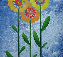Flowers by Claire Waddington