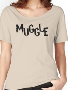 Me A Muggle  Women's Relaxed Fit T-Shirt