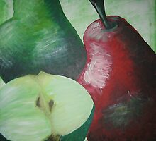 Pears by Claire Waddington