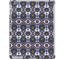 Psychedelic Fractal Manipulation Pattern on White iPad Case/Skin