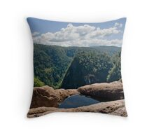 Tully Gorge - FNQ Throw Pillow