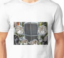 Duesenburg Grill and Headlights  Unisex T-Shirt